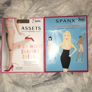 SPANX POWER PANTIES & SHAPING SHEERS-BOTH FOR $22